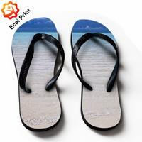 2016 hot sell custom rubber sandals with designs
