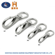 Stainless Steel Swivel Eye Snap Hook Marine Boat Sailing Yacht Accessories