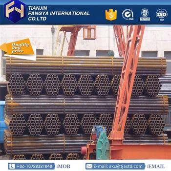 Professional manufacturer china 558mm erw steel pipe made in China