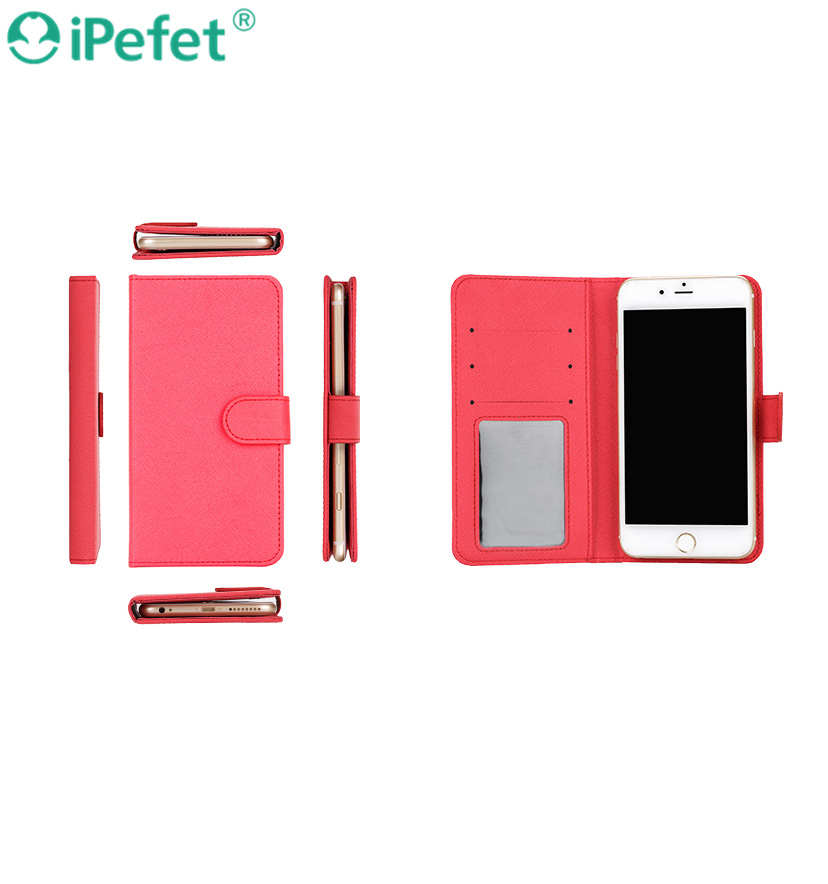 iPefet- Premium Kickstand Pattern PU Leather case Flip phone cover for Samsung S8