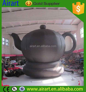 New design giant inflatable product model,inflatable teapot for advertising to sale