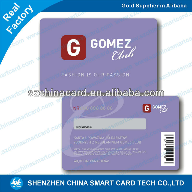 2d barcode plastic pvc make holographic cards