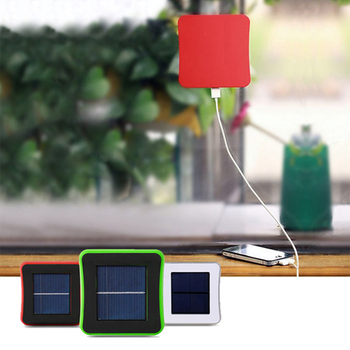 Portable Solar Car Window Mobile Phone Charger 2600/5000mAh Solar Backup Battery Power Bank With Suction Power for Mobile Device