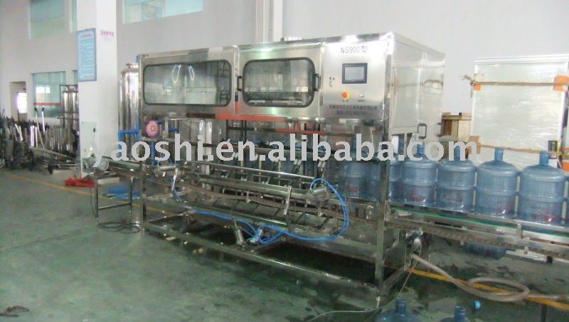 Gallon bottle Rinser machine