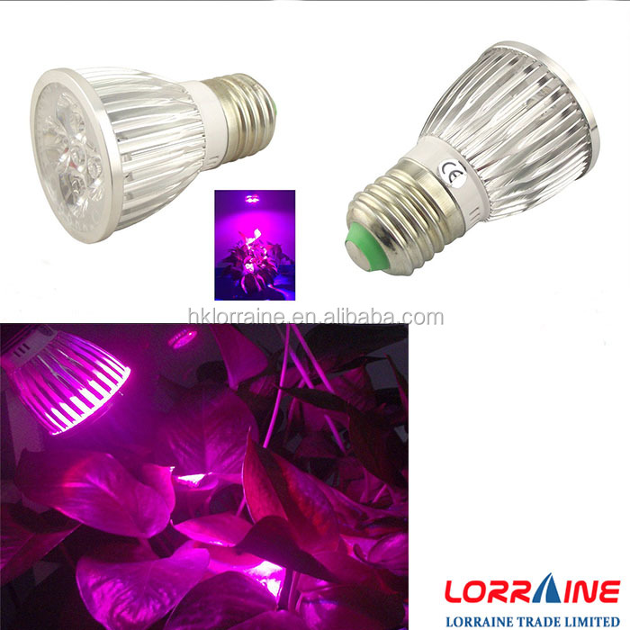 Wholesale LED Grow Light 12W Plant Grow Lights E27 Growing Bulbs for Plants