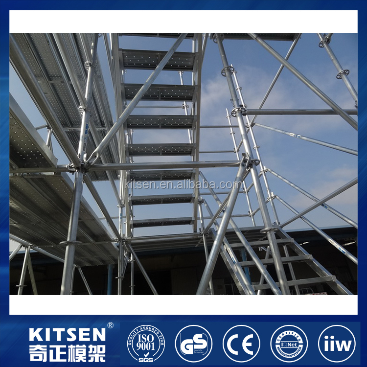 Rosette Joint Design Universal Application Ring Lock Scaffold System