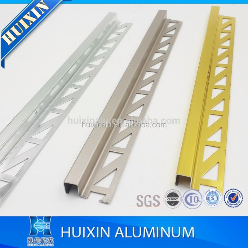 Factory hot sale !! Aluminium L shape tile trim corner