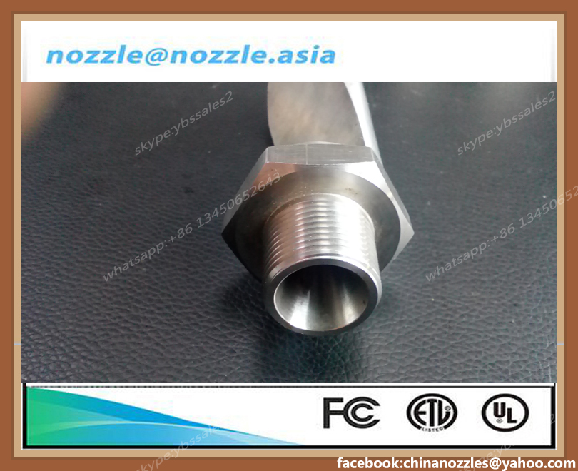 Narrow Angle SUS303 3/4 35Degree High impact Flatjet P nozzle,3/4P-SS35160, 3/4P-SS35200,For vegetable and fruit cleaning