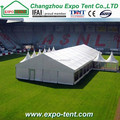 Outdoor manufacture tent for events
