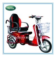 factory supply passenger electric tricycle for disabled