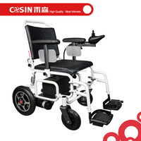 ultimate double motor big battery strong power folding electric wheelchair