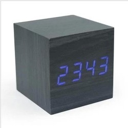 Wooden Clock LED Clock Home Decor Compact Noble Graceful High Quality Alarm Clock Various Design Hot Selling