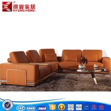 Supply European high back corner sofa furniture