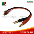 Deans to 4mm Banana Plug Connector RC Battery Charging Cable,Battery Connector for Toys