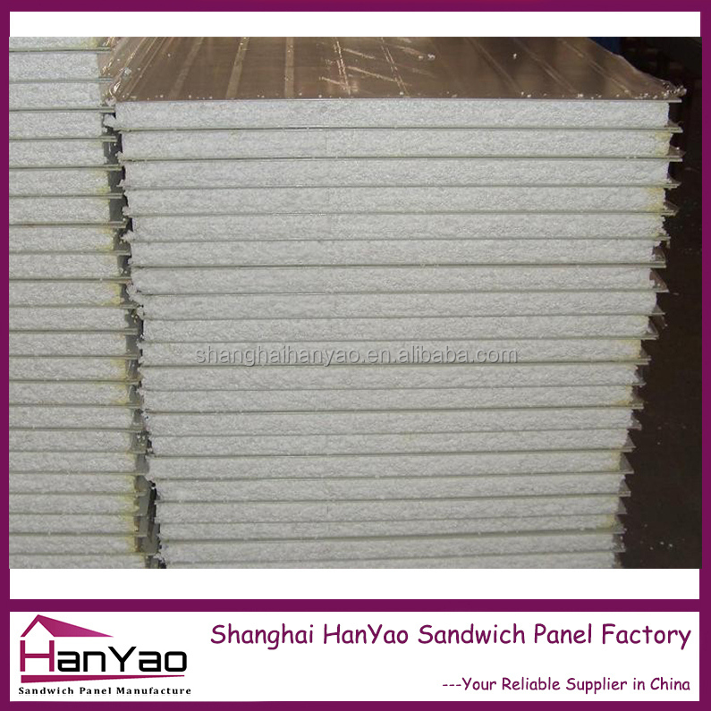 HanYao Light Weight EPS Sandwich Wall Panel Steel The Prefab House Polylol System for PUR Sandwich Panel Polyurethane Price