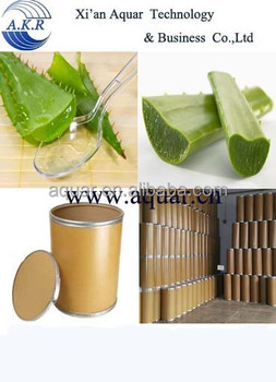100% pure Aloe Vera extract powder cas no.8001-97-6 Aloe barbadensis
