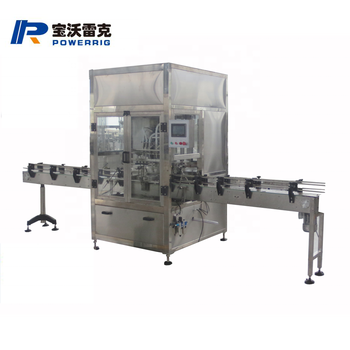 Powerrig machinery ZX-8 olive oil filling capping machine line with CE certification