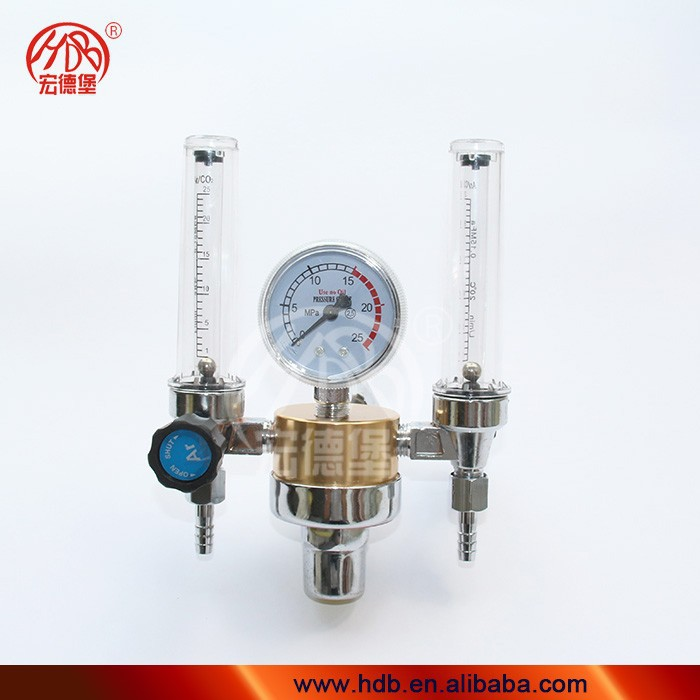 TIG Flowmeter Gas Regulator/Argon pressure regulator