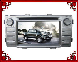 6.2 inches car navigation used toyota hilux pick up
