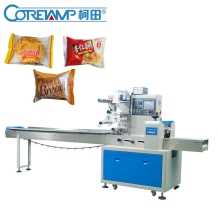 Flow Automatic Popsicle Biscuit Cake Bread Packing Machine
