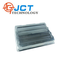 Customized shape electronic components tray/ cheap thermoforming plastic clamshell packaging