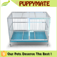 white colour large dog cages for large dogs and other pets