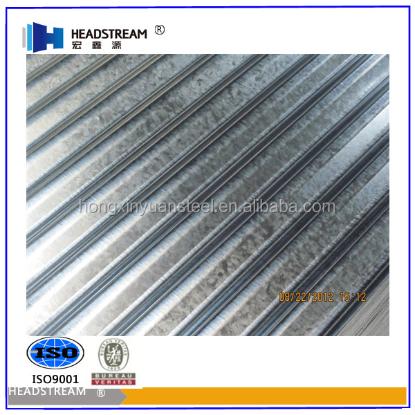 zinc aluminum alloy corrugated roofing sheet with good quality from China manufacturer
