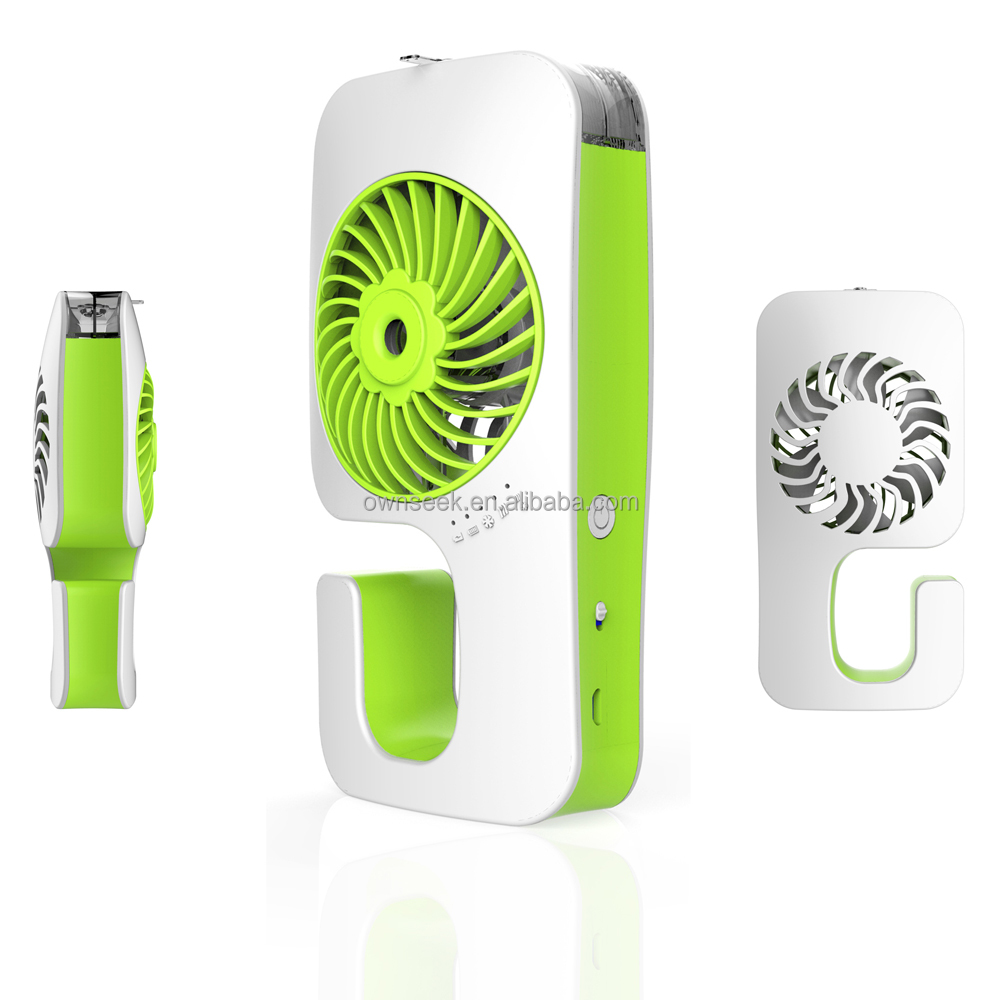2015 New Promotion handheld wholesale water mist spray mini electric hand fan