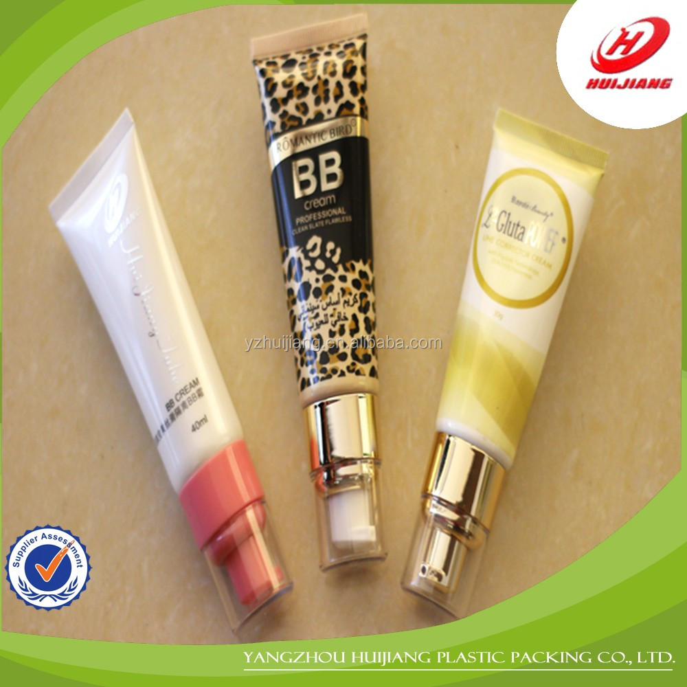 High quality beautiful young girl plastic lip balm tubes packaging