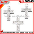 Hot fashion high quality rhinestone cross pendant