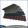 Hot selling nosen type stone coated metal aluminum roofing plate tile