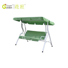 Garden canvas chair swing 3 seater swing chair canopy hammock chair swing