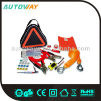 25pcs car/auto safety roadside emergency tool kits