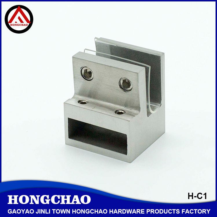 Heavy duty stainless steel 90 degree knighthead clamp