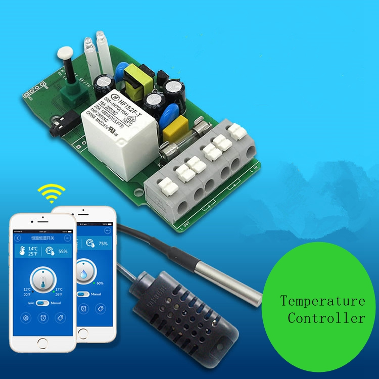 Mobile phone Wifi Wireless Remote control intelligent household Temperature Controller
