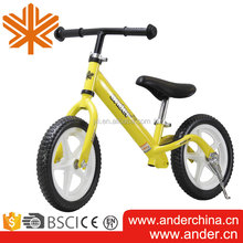 Hot Sale ANDER Design 12'' Steel Mini No Pedal Balance Run Bike