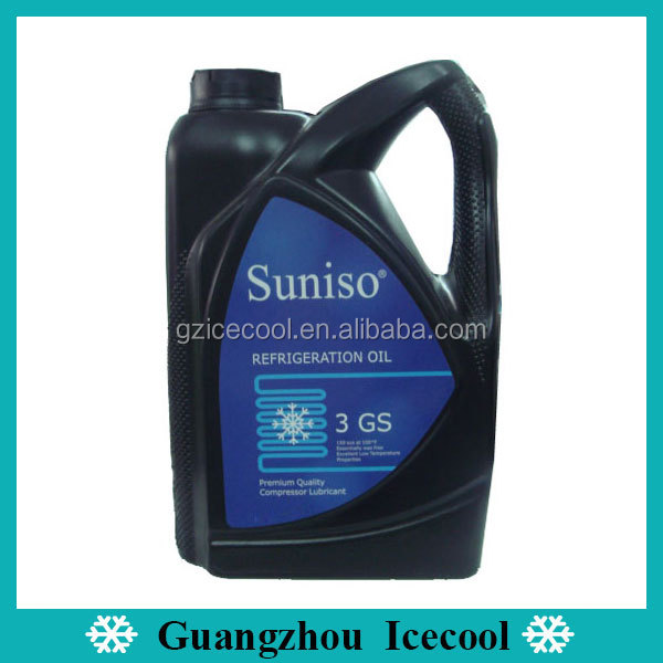 3GS Suniso Compressor oil AC Refrigeration R134a lubricant oil
