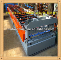 Portable roll forming machine wall