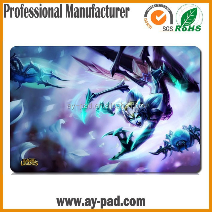 AY Custom Playmat Digital Monster Digimon MTG Cardfight Vanguard Steelseries Mouse Sexy Anime Play Mat Card Game Playmat