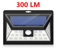 2017 hot new products 24LED solar outdoor wall lighting electric lights in the human body