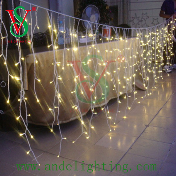High quality LED Icicle Light holiday lighting outdoor decoration