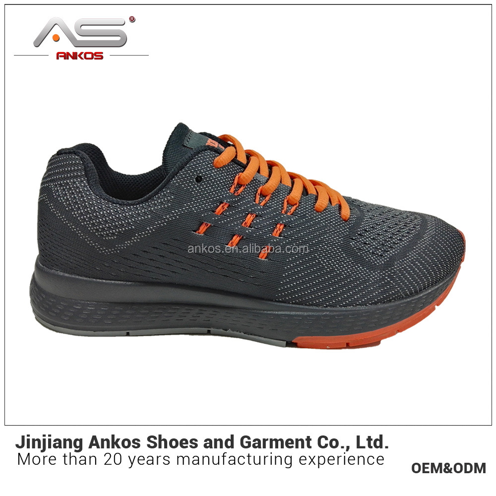 the sport shoes factory OEM customize logo men sports running brand shoe sneaker 2017 sports shoes men