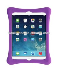 Violet Rugged and Waterproof Tablet Case Silicone Rugged Tablet Case for Ipad Air