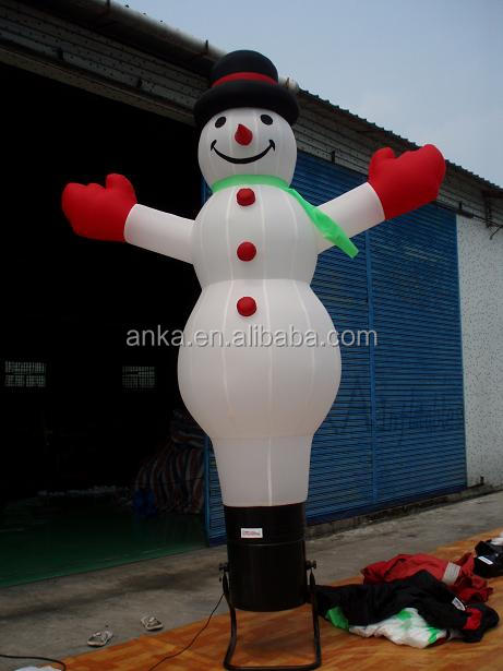 Customized giant inflatable snowman for advertising ( Guangzhou, ANKA )