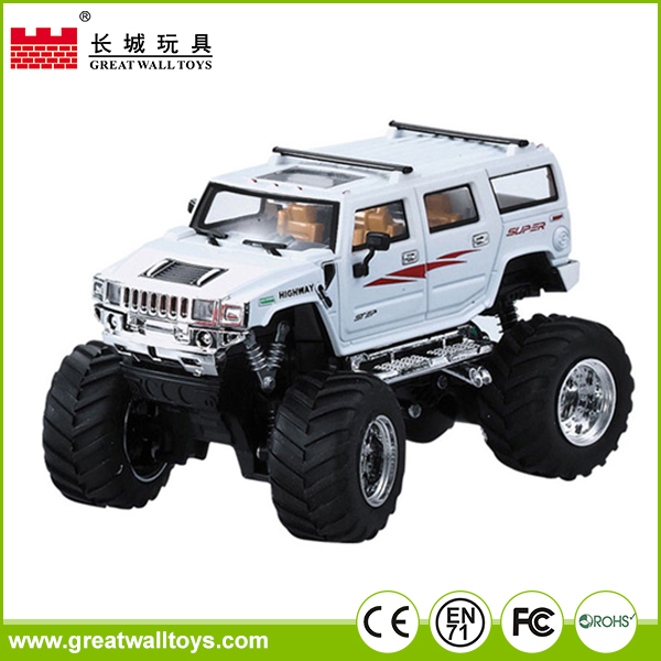 Children high speed rc car toys 4CH truck tractors scale for sale
