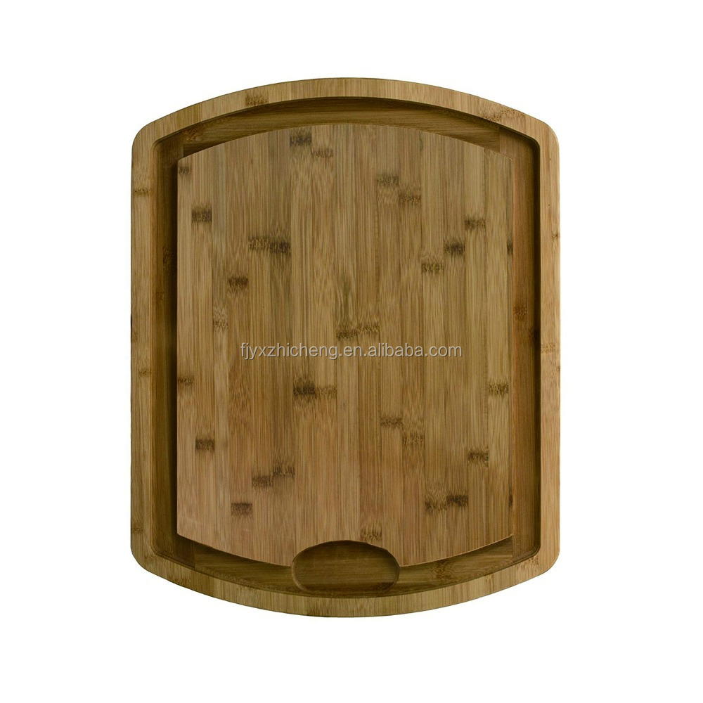 Kitchen Accessories xtra Large Bamboo Cutting Board with Juice Drip Groove Large, Thick, and Strong Chopping Board