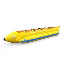 High quality 0.9mm PVC single line inflatable banana boat for sale