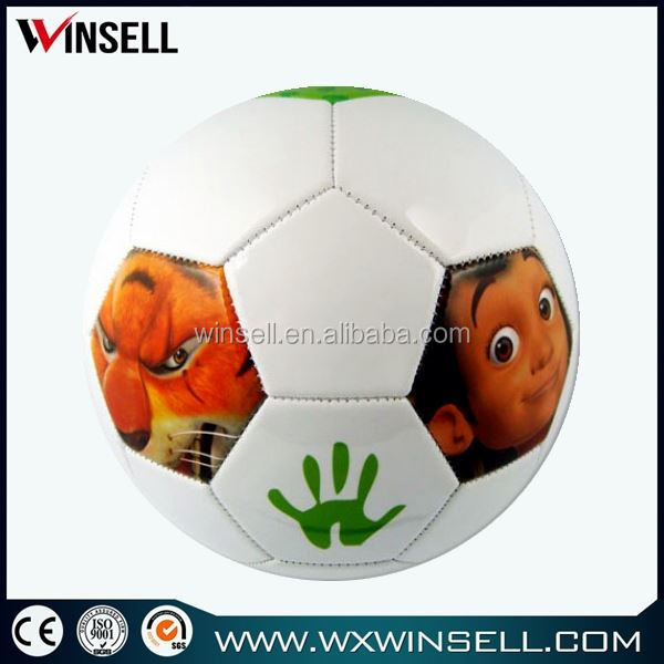 32 panel promotional pvc soccer ball