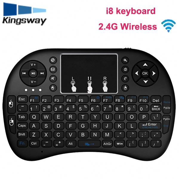 Using for android linux tv box / tablet pc / laptop / smart tv i8 mini wireless keyboard with touch