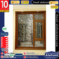 New Design Aluminium Clad Wood Casement Window for Garden